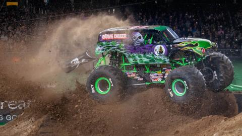 Grave Digger - Photo by Susan Woolley,  123eventphotography.com