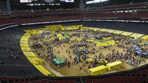 Monster Jam Pit Party - Photo by Kenny Lau