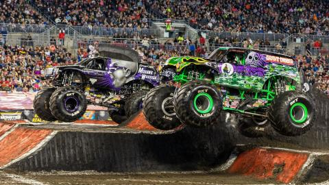 Mohawk Warrior, Grave Digger - - Photos by Eric Stern