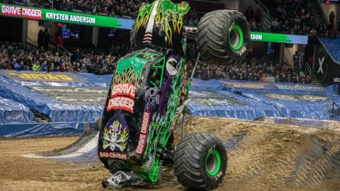 Grave Digger -  Photo by Andrew Latshaw