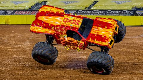 Max-D Fire (Photo by Eric Stern)