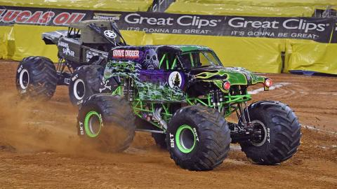 Grave Digger (Photo by Kenny Lau)