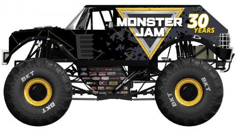 Monster JAm Stunt Truck