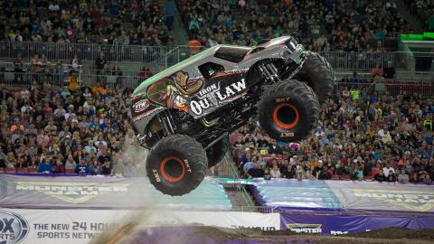 Iron Outlaw Monster Jam Truck