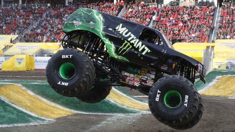 Mutant Monster Jam Truck