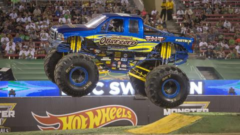 Obsessed Monster Jam Truck
