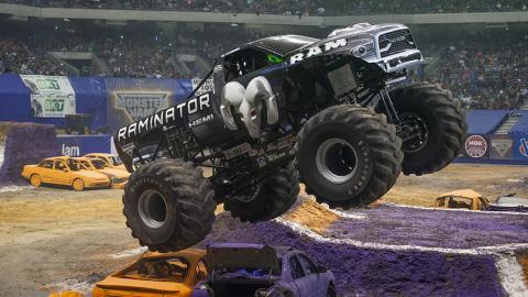 Raminator Monster Jam Truck