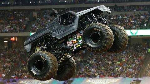 Soldier Fortune Black Ops Monster Jam Truck