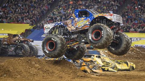 Stone Crusher Monster Jam Truck