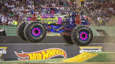 Wild Flower Monster Jam Truck