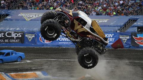 Wonder Woman Monster Jam Truck