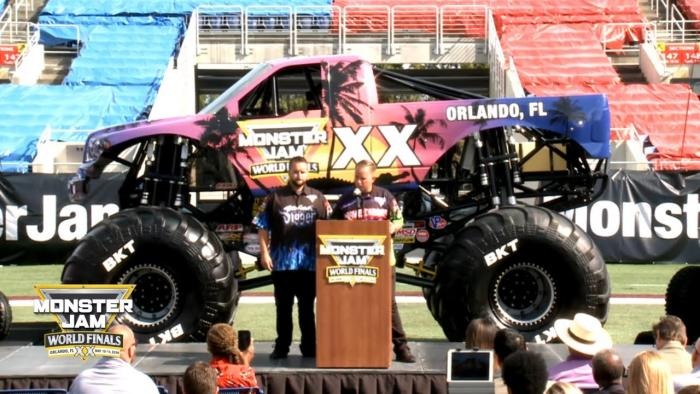 World Finals XX Press Conference   Monster Jam